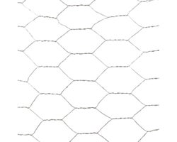 Grillage hexagonal galvanisé 48 po x 25 pi