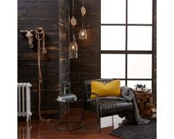 Lambris de bois Rework, Charbon