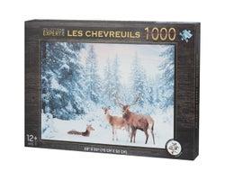 Deer Puzzle (1000 pieces)