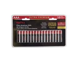Piles Ultra Premium AAA(Paquet de 16)