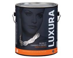 Peinture au latex Luxura Salons et chambres à coucher Blancnatureletcouleurs3,7L