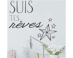 Decorative Wall Stickers Suis tes rêves