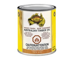 Australian Timber Oil Wood Finish Honey Teak 946 ml